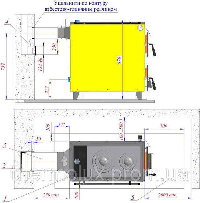 Схема монтажа Данко АКТВ-20