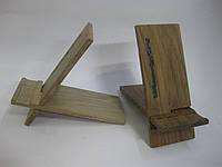 Деревянная подставка для телефона, фото 1