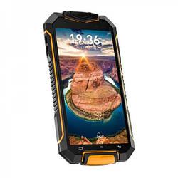 Смартфон Geotel A1 IP67 black-orange 1/8Gb 4 ядра Android 7.0