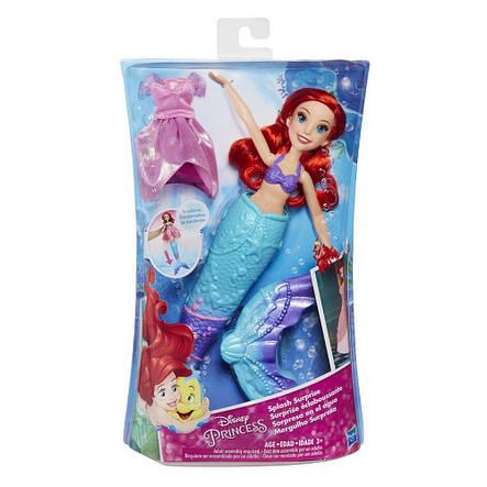 Ляльки пупси «Disney Princess» (B9145) Принцеса Аріель, перетворюється з Русалки в дівчину, 28 см, фото 2