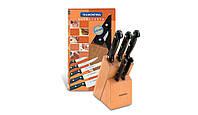Набор кухонных ножей Набор Tramontina ULTRACORTE 23899/054 (5 ножей + подставка)