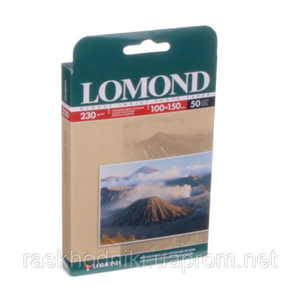 Фотобумага Lomond Photo Paper 10x15 глянцевая 230 г/м (50 шт.)