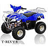 Квадроцикл для детей электрический T-REX V 8 синий