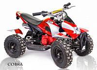 Бензиновый квадроцикл для детей COBRA 412 красный