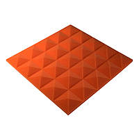 Акустическая панель Ecosound пирамида Pyramid Gain Orange 30 мм.