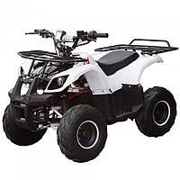 Квадроцикл детский электрический Хаммер 1000 Ватт белый
