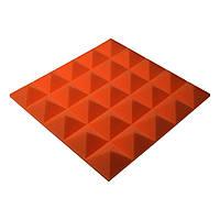 Акустическая панель Ecosound пирамида Pyramid Gain Orange 50 мм.