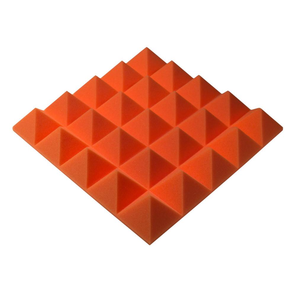 Акустический поролон Ecosound пирамида Pyramid Gain Orange 45х45см, 70 мм.