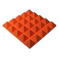 Акустическая панель Ecosound пирамида Pyramid Gain Orange 70 мм.