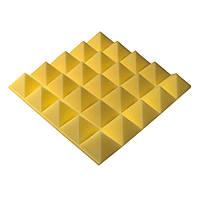 Акустическая панель Ecosound пирамида Pyramid Gain Yellow 70 мм.