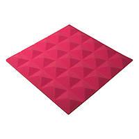 Акустичний поролон Ecosound піраміда Pyramid Gain Rose 45х45см, 30 мм.