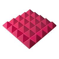 Акустичний поролон Ecosound піраміда Pyramid Gain Rose 45х45см, 70 мм.
