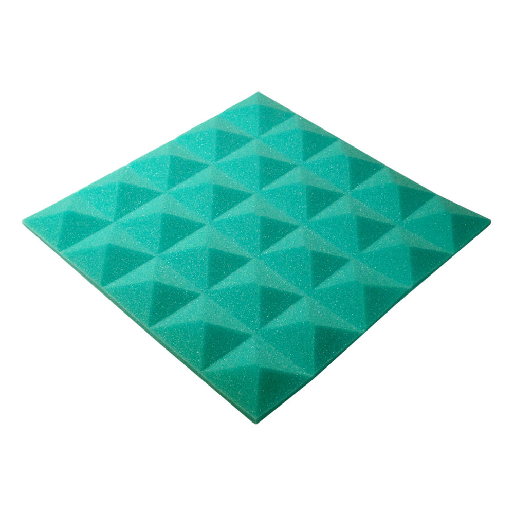 Акустический поролон Ecosound пирамида Pyramid Gain Green 45х45см, 30 мм.