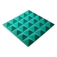 Акустическая панель Ecosound пирамида Pyramid Gain Green 50 мм.
