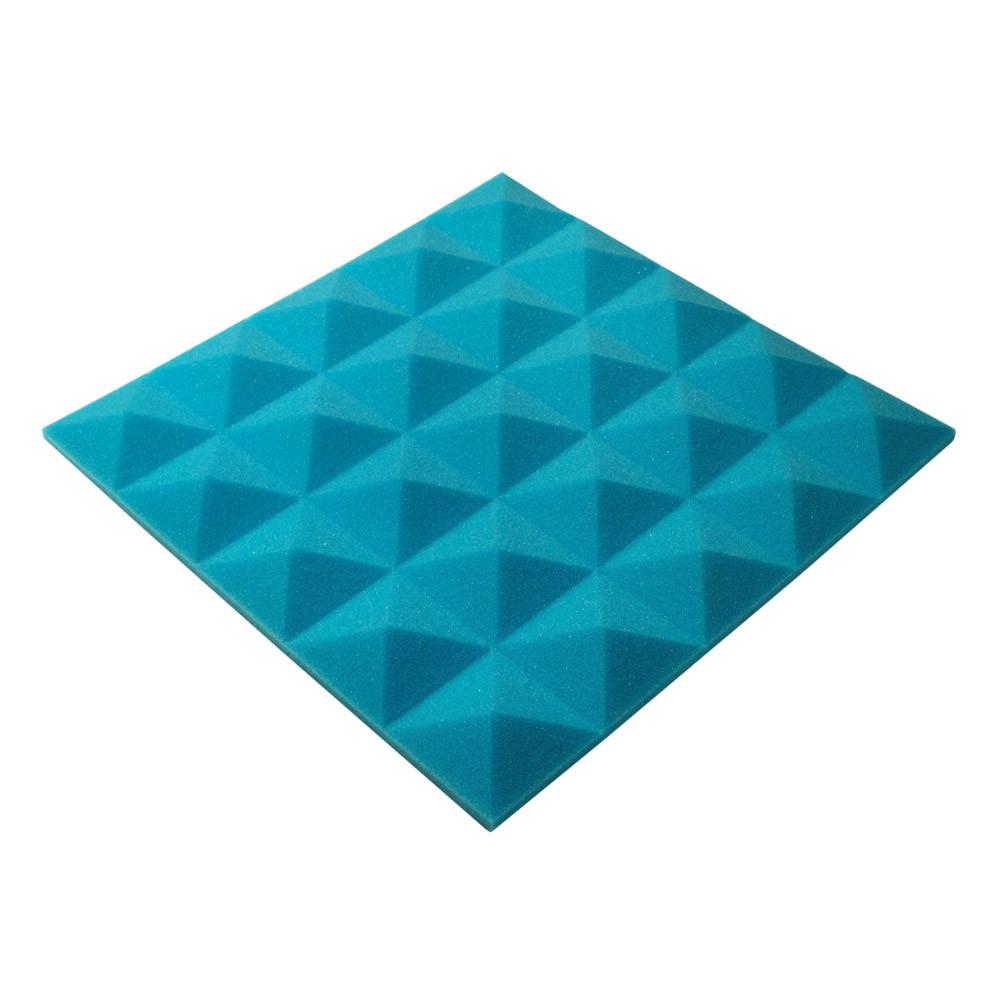 Акустичний поролон Ecosound піраміда Pyramid Gain Blue 45х45см, 30 мм.