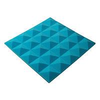 Акустическая панель пирамида Pyramid Gain Blue 30 мм.