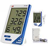 Гигрометр термометр Kt-908 с выносным датчиком, фото 2