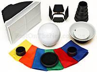 Профессиональный набор насадок для фотовспышек Phottix Hydra 8 Flash Kit