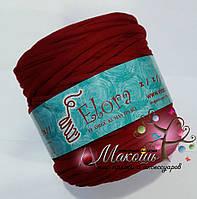 Пряжа для вязания ковриков, 700 г, бордо