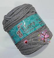 Пряжа для вязания ковриков, 700 г, серый