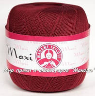 Пряжа Макси Maxi Madame Tricote, 5522, бордо