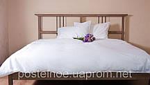 Белое постельное белье 1,5