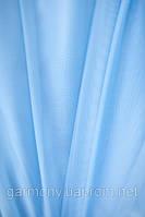 Шифон однотонный Голубой