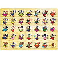 Розвиваюча іграшка Мир деревянных игрушек Алфавит (Р 64)