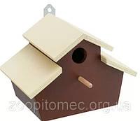 NATURA FUN3 Будиночок для птахів дерев'яний