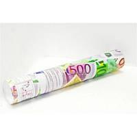 Хлопушка пневматическая с сувенирными Евро 50 см