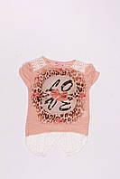 Туника с коротким рукавом для девочек 6 - 13 лет. Eftelya, фото 1