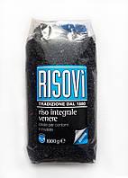 "Итальянский черный рис ""Risovi Riso Integrale Venere"", 1 кг, фото 1"