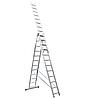 Itoss 3x14. 3-х секционная универсальная алюминиевая лестница. 9 метров