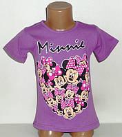 """Футболка """"Minnie"""" для девочек 6,7,8 лет"""