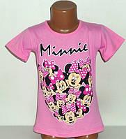"""Футболка """"Minnie"""" для девочек 5,7,8 лет"""