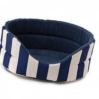 Лежак Comfy Marina XL синий, 64x56x23 см