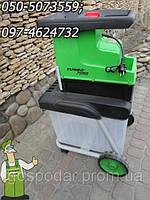 Мощный профессиональный фрезерный веткоизмельчитель Florabest FLH 2500 с бункером