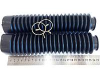 Гофра вилки Viper-125 (250мм) силикон черная