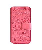 Чехол-книжка Florence New Year II для HTC Windows Phone 8S a620e (4 цвета)