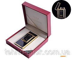 USB зажигалка TIGER (Электроимпульсная) №4686 Black