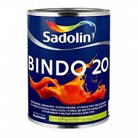 Краска для стен BINDO 20 PROF 20л - Полуматовая моющаяся краска для стен и потолка (Биндо 20)