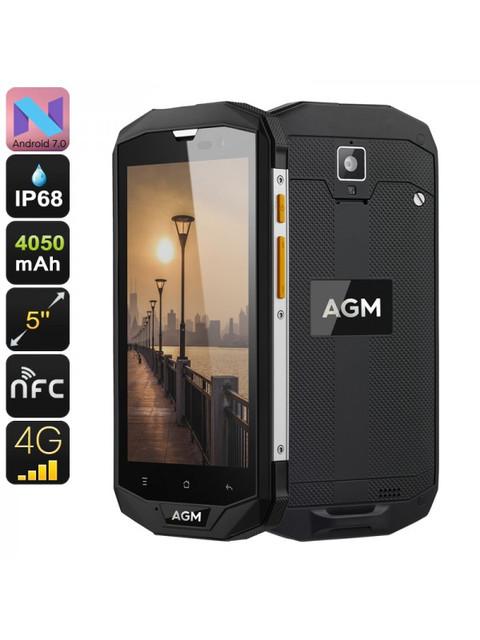 Краш-тесты защищенного смартфона AGM A8