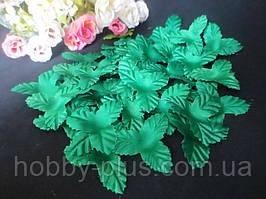 Чашелистик трехлистный, диаметр 4 см, цвет зеленый, ткань, 10 шт