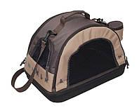 Сумка-переноска Comfy Bella Trio для кошек бежево-коричневая, 44х30х30 см, фото 1