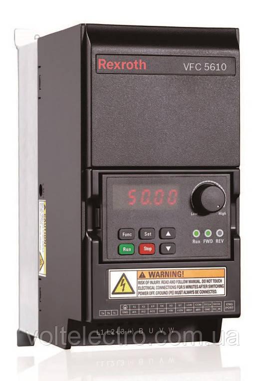 Преобразователь частоты VFC 5610 Bosch Rexroth  30 kW, 3 AC 380 - 480 V, 50/60 Hz, 60,8 A R912005967