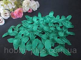 Чашелистик трехлистный, диаметр 3 см, цвет зеленый, ткань, 10 шт
