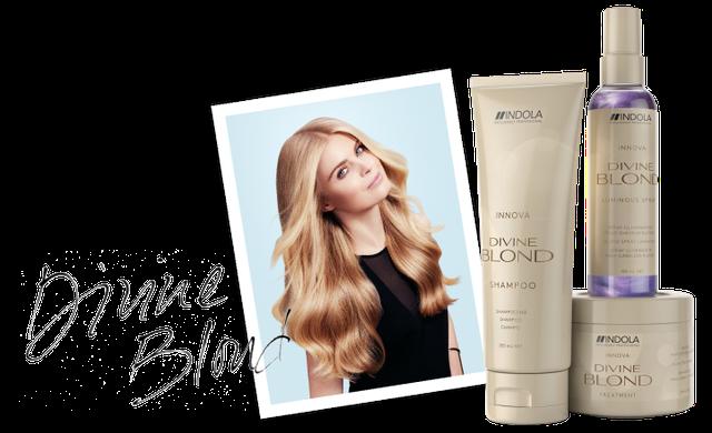 Новинка от Indola для светлых волос Divine Blond