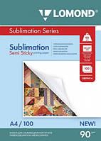 Одностороння бумага для сублимационной печати, А4, 90 г/м2, 100 листов
