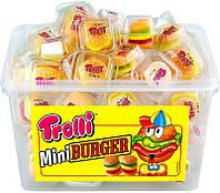 """Жевательный мармелад """"Гамбургер"""" Тролі (Trolli Mini Burger) 600гр/60шт."""