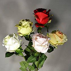 Роза искусственная 85 см в ассортименте
